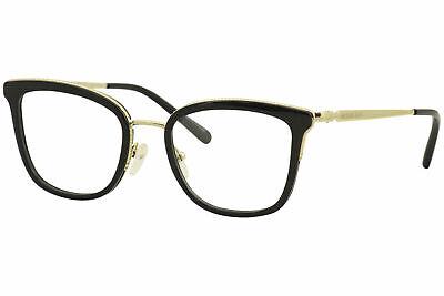 Michael Kors Eyeglasses Coconut-Grove MK3032 3032 3332 Black/Gold Optical (Michael Kors Optical Frames)