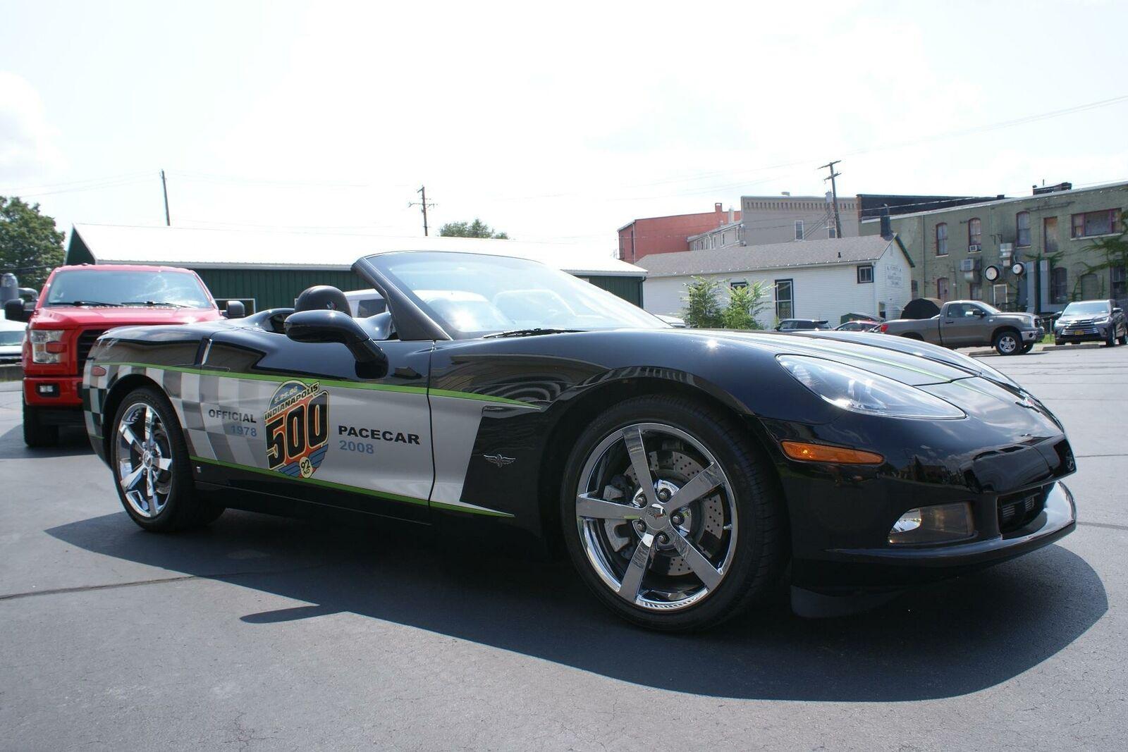 2008 Black Chevrolet Corvette   | C6 Corvette Photo 8