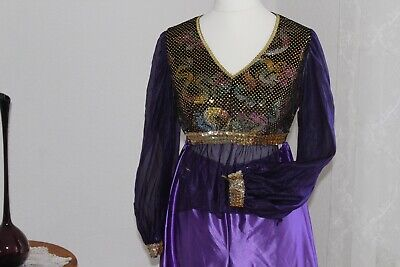Kostüm Bauchtänzerin Suleika Gr. 38 40 Arabische Prinzessin - Lila Bauchtänzerin Kostüme