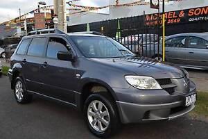 2006 MITSUBISHI OUTLANDER ZF ACTIV 4WD AUTOMATIC 4 CYLINDER Coburg Moreland Area Preview