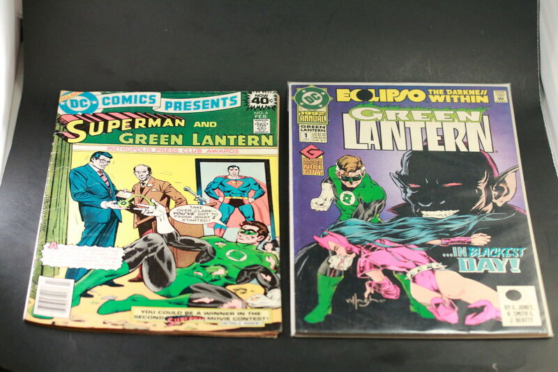 DC Comics 7 Various Green Lantern Comics