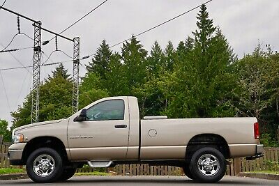 2004 Dodge Ram 2500 SLT 2004 Dodge Ram 2500HD SLT Reg Cab LB 4x4 Diesel 6-Speed Manual Pickup Truck