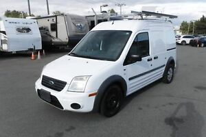 2010 Ford Transit Connect XLT with Ladder Rack and Bulkhead Divi