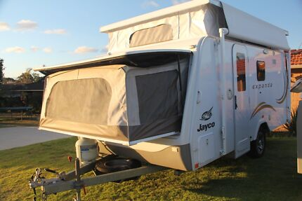 Jayco Expanda Caravan and Jayco Hawk Camper Trailer for HIRE FROM Kingsley Joondalup Area Preview