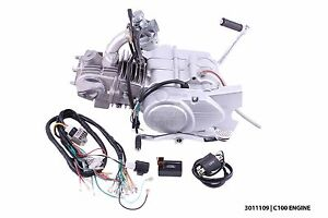 New manual 100cc complete engine to fit Honda SS50 CL50 CL70 CD50 CD70