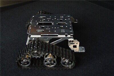 Us Diy For Arduino Experiment Metal Robot Tank Crawler Chassis Smart Car