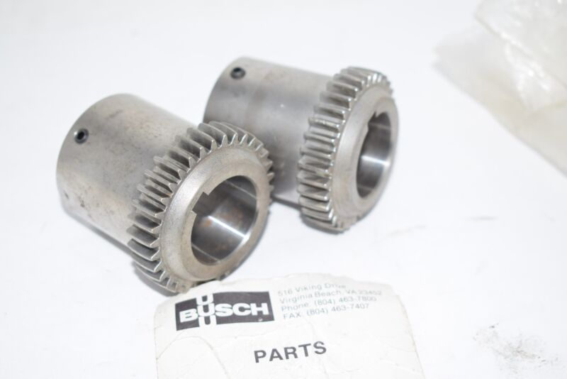 Lot of 2 NEW Busch 512.178.00 Coupling Half Motor