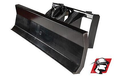 Mclaren 96 4 Way Skid Steer Hydraulic Dozer Bladedirt Plow For Volvo Machines