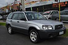 2004 SUBARU FORESTER AWD X WAGON 5 SPD MANUAL DRIVEAWAY ONLY Coburg Moreland Area Preview