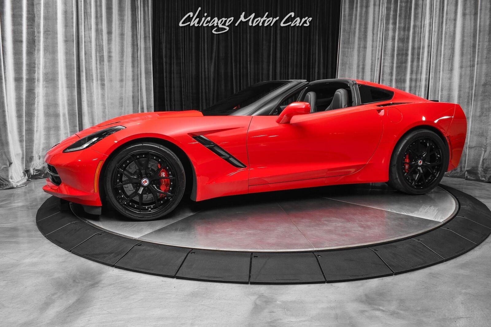 2014 Red Chevrolet Corvette Stingray 2LT | C7 Corvette Photo 1