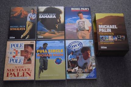 Michael Palin travel books, boxed collection, very good condition