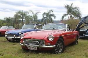 Classic Car Hire MGB Roadster/Convertible Events Formals Weddings Samsonvale Pine Rivers Area Preview