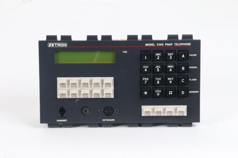 Zentron Model 3100 PSAP Telephone Console