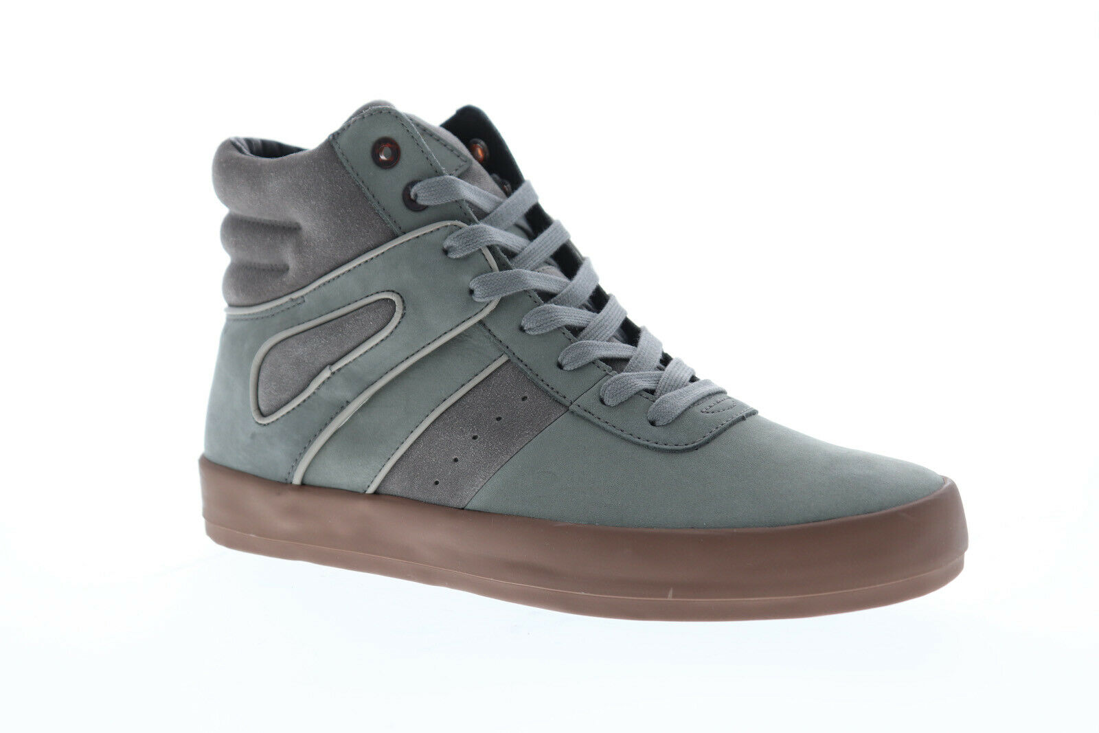 Creative Recreation Moretti CR3250001 Mens Gray Casual High Top Sneakers Shoes