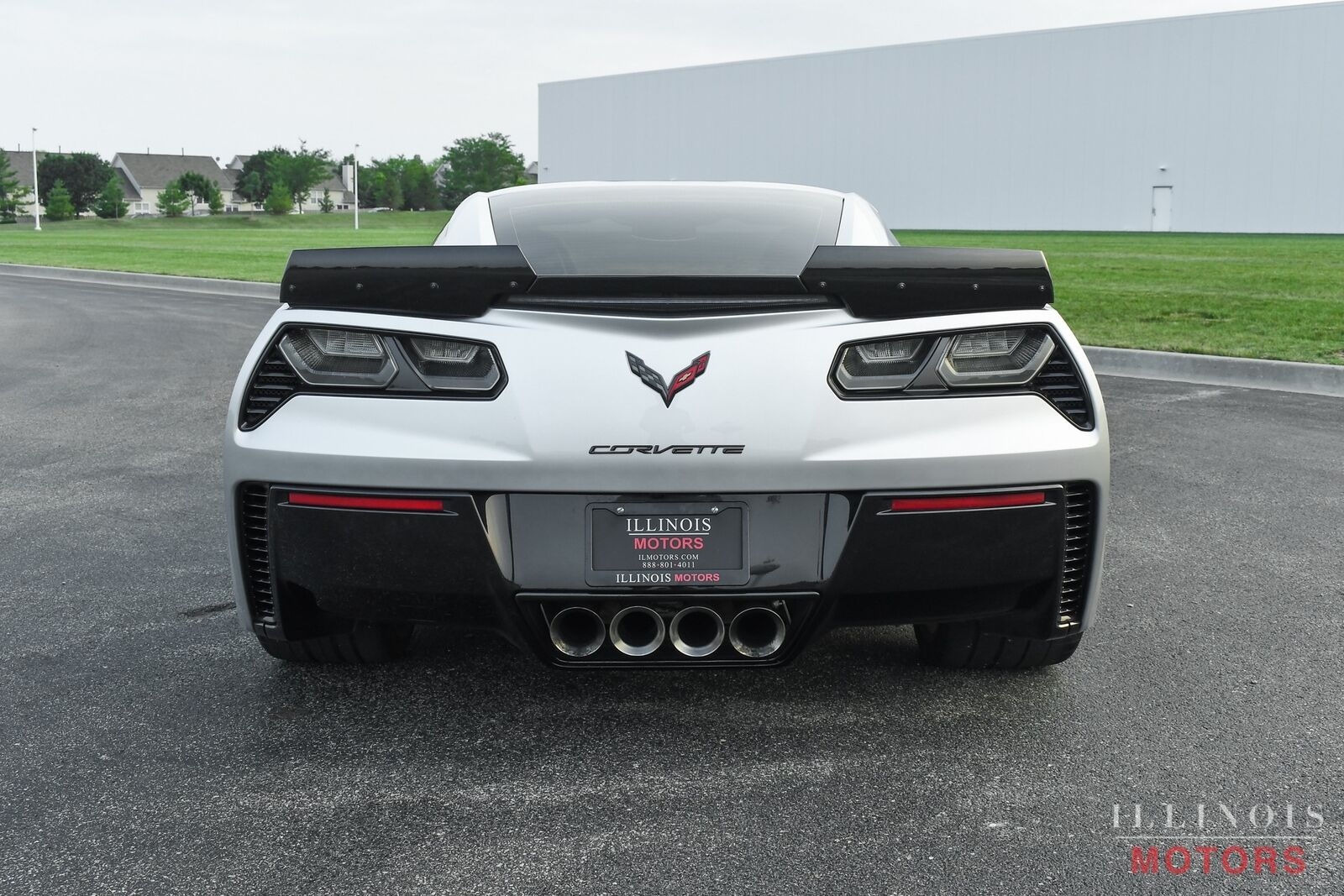 2015 Silver Chevrolet Corvette Z06  | C7 Corvette Photo 5