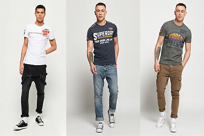 Superdry Mens Custom Classics T-Shirt
