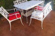 7 PIECE WHITE ALUMINIUM OUTDOOR SETTING Allambie Heights Manly Area Preview