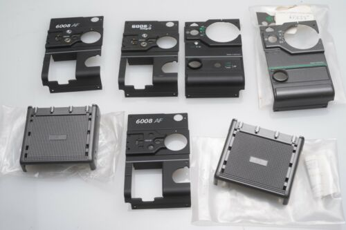 Lot Rollei 6000 6008 AF Integral 2 6003 Body Side Covers Waist Level NOS Unused
