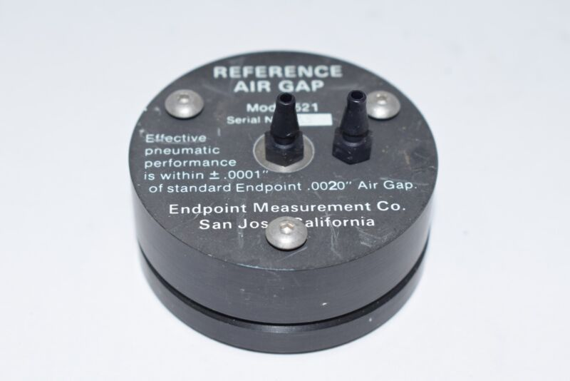 Endpoint Measurement Co. Reference Air Gap Model 521 .0001