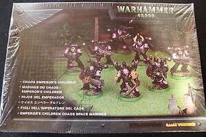 Warhammer 40k Chaos Space Marines Emperors Children Noise Marines BNIB New Metal