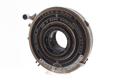 C P Goerz Dagor 7 Inch f/6.8 Large Format Lens in Ilex No 3 Acme Shutter RA99 for sale  Elkins Park