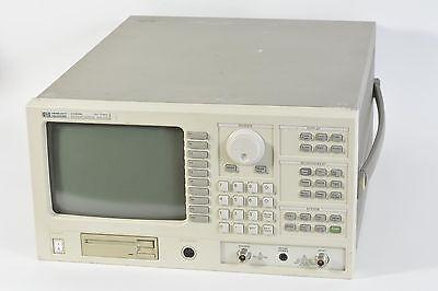 Agilent HP 3589A 10Hz - 150Mhz Spectrum / Network Analyzer 1D6