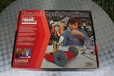 KOSMOS Physik-Praktikum Technik + Mechanik Experimentierkasten  -unvollständig-