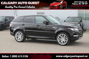 2015 Land Rover Range Rover Sport 4WD/NAVI/B.CAM/LEATHER/PANO-RO