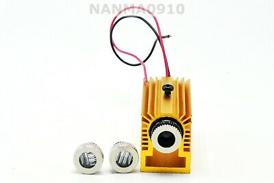 Dia 12mm Dotlinecross Infrared Laser Module 980nm 100mw Ir W Focus Lens 5v
