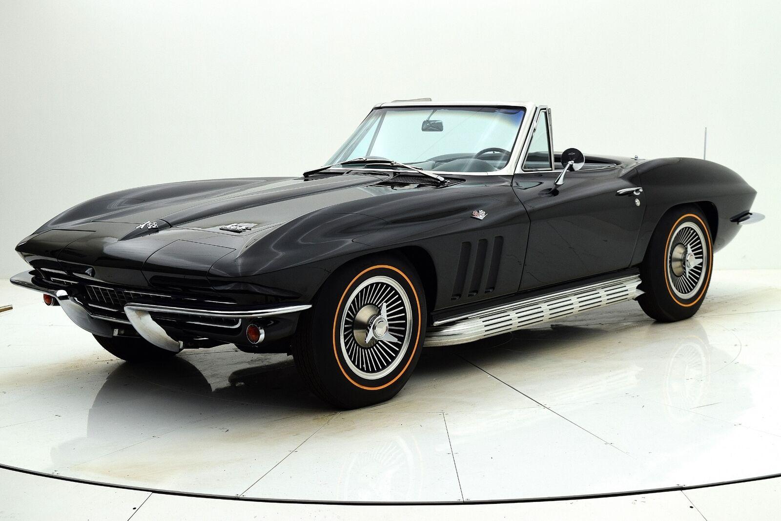 1966 Black Chevrolet Corvette Convertible  | C2 Corvette Photo 10
