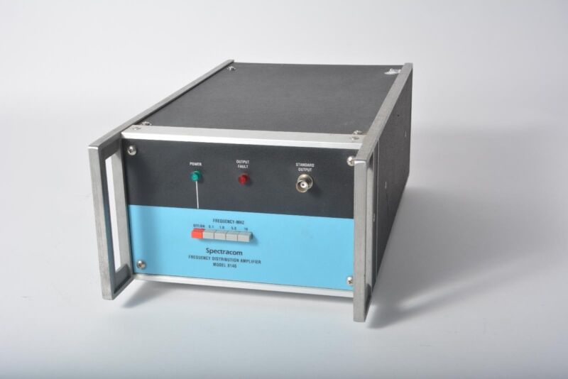 Spectracom 8140 Frequency Distribution Amplifier - Opt 8, 20