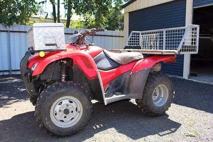 2011 Honda TRX420FM 4 Wheeler