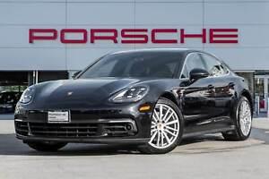2017 Porsche Panamera 4S Carbon Fiber Interior PKG Lane Change A