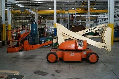 Jlg N35 Electric Narrow Articulating Boom Lift Aerial Manlift 544hrs