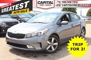 2018 Kia Forte LX+ | HEATED SEATS | REAR CAMERA | 17K KMS