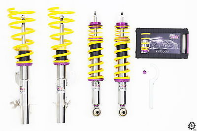 2005-2008 Ferrari F430 F131 Spider KW Variant 3 V3 Coilovers Adjustable Coils