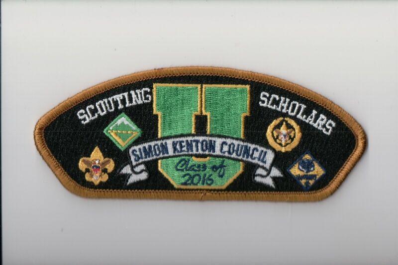 Simon Kenton Council SA-315 University OF Scouting Class Of 2016 CSP