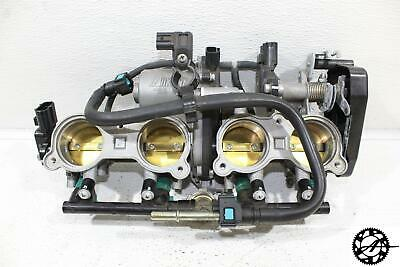 2012 2013 2014 YAMAHA YZF R1 OEM THROTTLE BODIES FUEL INJECTORS