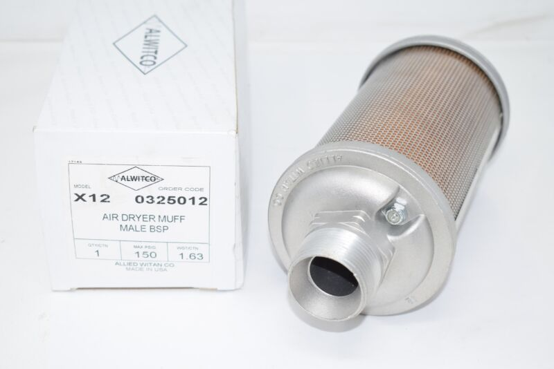 NEW ALWITCO X12 Atomuffler Air Dryer Muffler 150 PSi