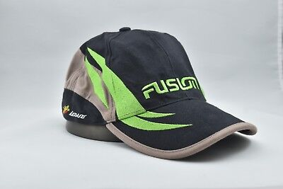 Team Fusion Baseball Cap Hat Car Audio Green, Black, Tan with Embroidered Logo's Cap Car Audio