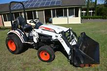 Bobcat 4WD 22hp Tractor/Front-end Loader Wallalong Port Stephens Area Preview