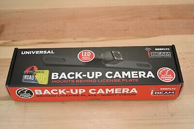 iBEAM License Plate Back-Up Camera w Night Vision BBBPLTC- #1 - L4