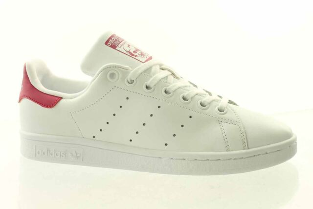 ADIDAS Stan Smith J Scarpe Retro Sneaker White Pink b32703 Superstar Gazelle