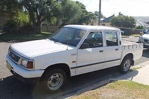 FORD COURIER DUAL CAB WORK UTE Argenton Lake Macquarie Area Preview