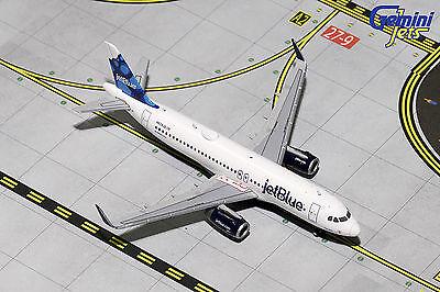 Gemini Jets Jetblue Airbus A320 Blueberries Gjjbu1547 1 400 Reg  N834jb  New