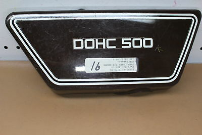 1976 1977 <em>YAMAHA</em> XS500 RIGHT SIDE COVER FAIRING COWL YTPU82