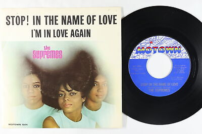 Northern Soul 45 - Supremes - Stop! In The Name Of Love - Motown - VG+ mp3