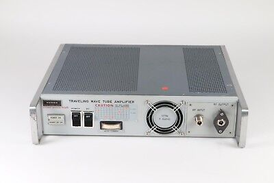 As Is Hughes 1177h07f000 Traveling Wave Tube Amplifier