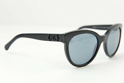 fd3658709329f CHANEL women s sunglasses 5315 c.501 26 54-20 140 3N Black Black round cat  eye