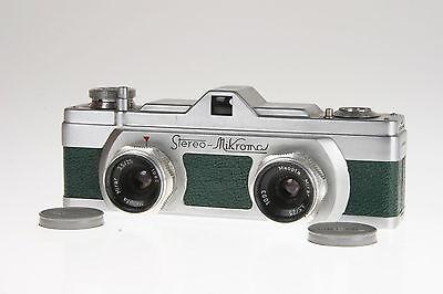 "Meopta Stereo Microma (grün) 3,5/25mm Mirar ""sehr selten"" Top"
